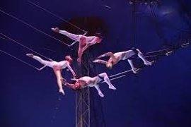 Tres Cantos acoge el primer trapecio volante de la Comunidad de Madrid