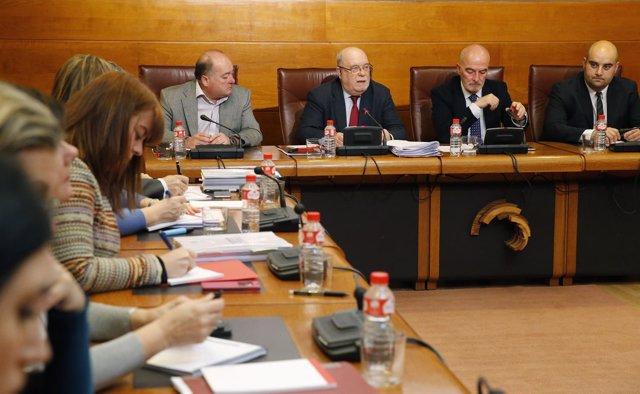 El consejero de Economía, Hacienda y Empleo comparece en el Parlamento
