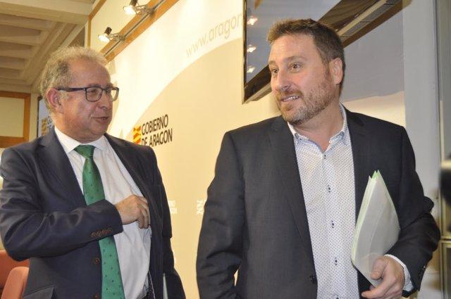 Fernando Gimeno y José Luis Soro