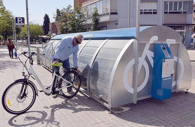 Aparcamiento del Bicibox