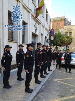 Recibimiento al nuevo Jefe de la Brigada Provincial de Seguridad Ciudadana