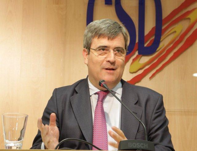 Miguel Cardenal abandona el CSD