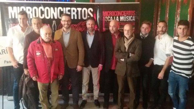 Presentación de los microconciertos 'Toca la música'