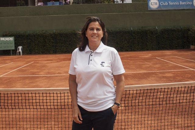 Conchita Martínez, capitana española de Copa Davis y Copa Federación