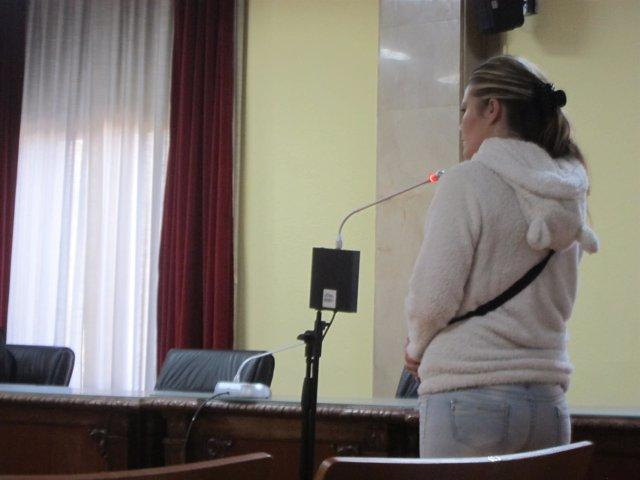 T.G.G. En su comparecencia ante el tribunal