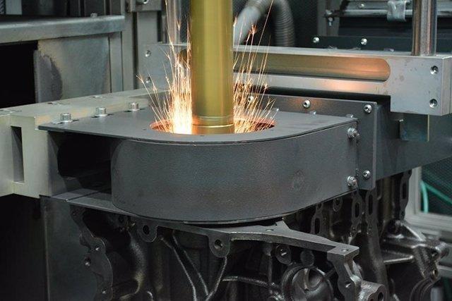 Imagen de una planta de Ford