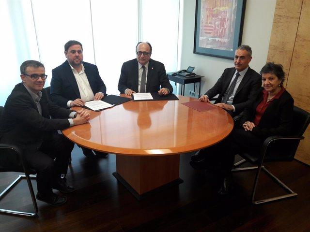 Convenio entre la Sindicatura de Cuentas y la Conselleria de Economía