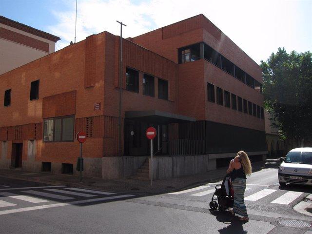 Antiguo colegio universitario, donde se ubicará la plataforma