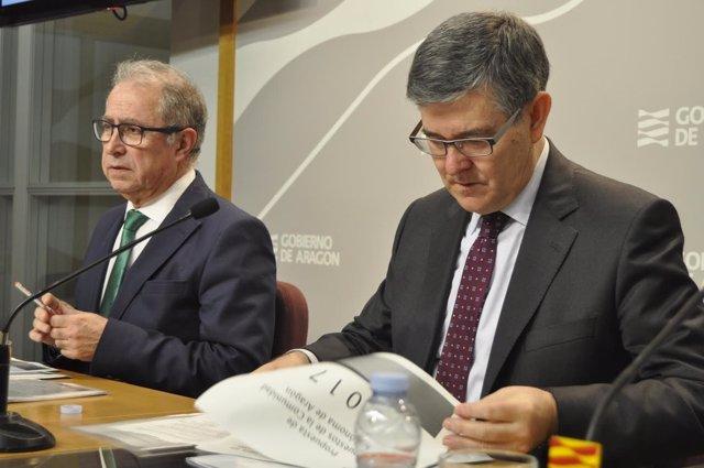 Fernando Gimeno y Vicente Guillén