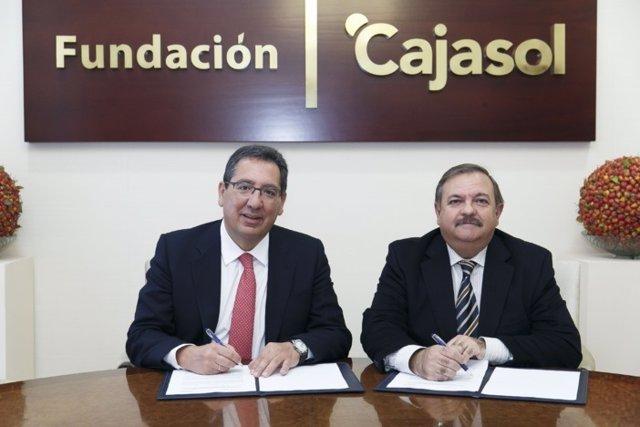 Antonio Pulido y José Ortega.