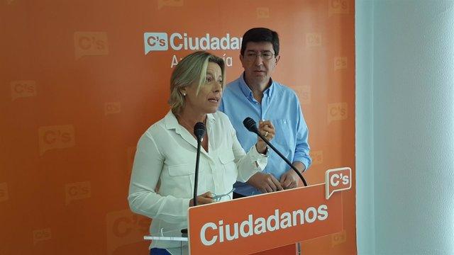 La Diputada De Ciudadanos Y Portavoz En La Comisión De Salud, Isabel Albás