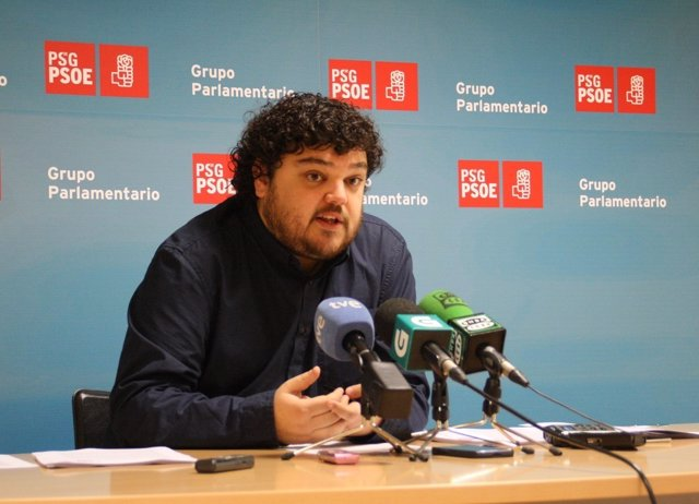 El diputado del PSdeG en el Parlamento Julio Torrado