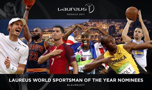 Nominados a los Premios Laureus de 2017