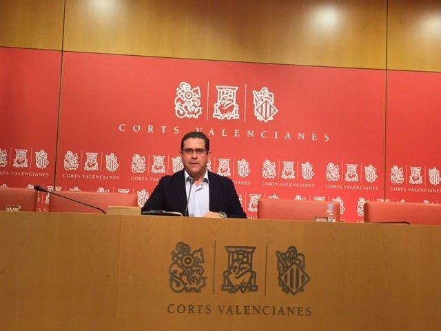 Jorge Bellver en rueda de prensa