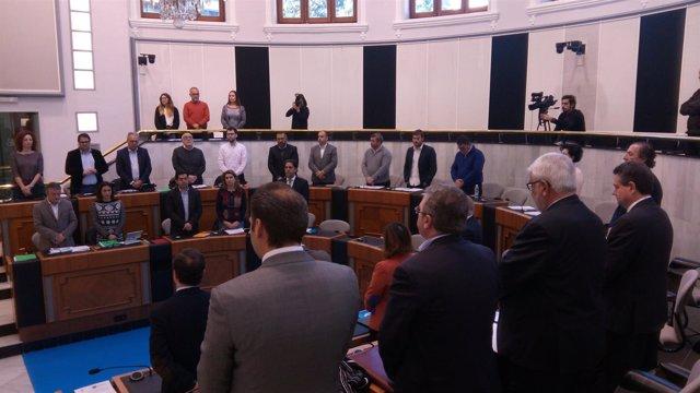 El pleno guarda este miércoles silencio por las víctimas de violencia de género