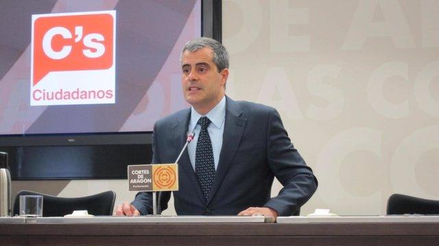 Javier Martínez, diputado de C's