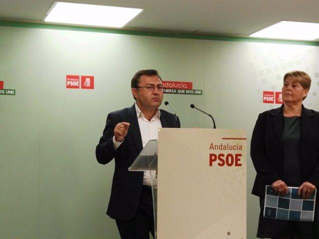 Miguel Ángel Heredia y María del Carmen Moreno