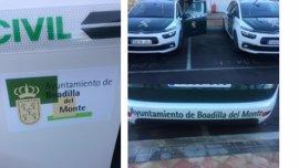 La Guardia Civil patrullará en Boadilla con vehículos patrocinados por el Ayuntamiento