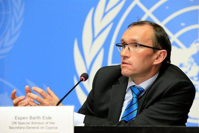 Espen Barth Eide, Enviado De La ONU Para Chipre