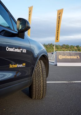 Recurso de neumáticos de Continental