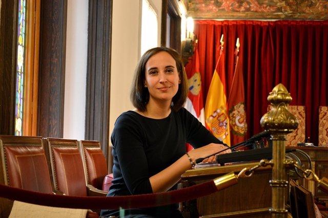 La portavoz de Ciudadanos en la Diputación de Valladolid, Pilar Vicente