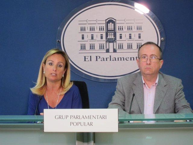 Mabel Cabrer y Carlos Veramendi