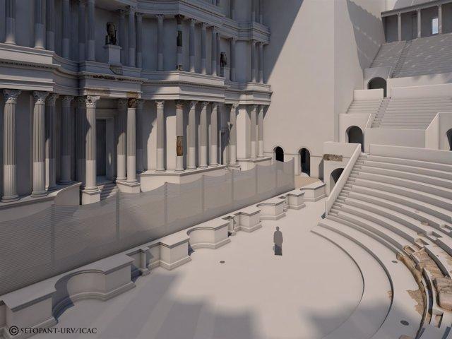 Inician las obras para poner en valor el Teatro Romano de Tarragona