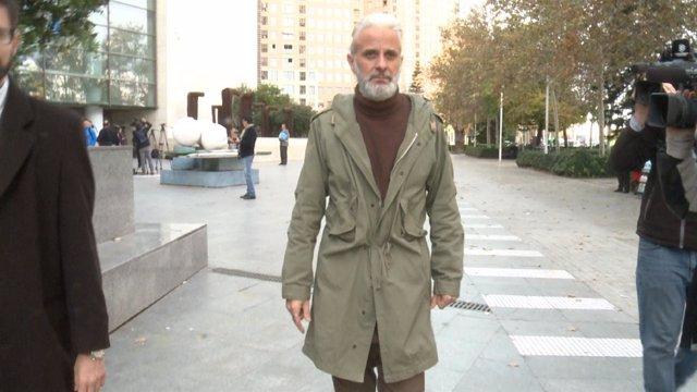 Benavent tras declarar en el juzgado en una imagen de archivo