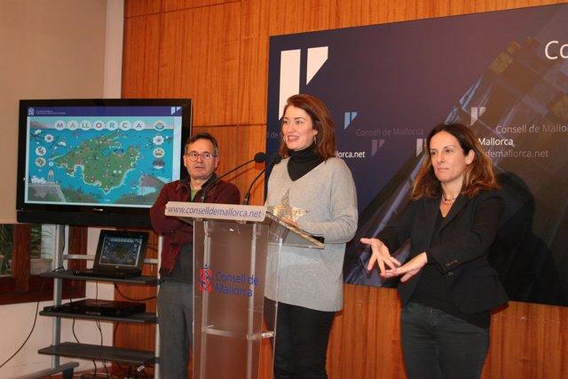 Paula Ginard presenta la imagen de Mallorca para Fitur