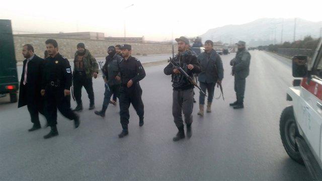 Atentado suicida en Kabul, Afganistán