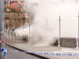 Asturias estará mañana jueves en riesgo por viento y fuerte oleaje