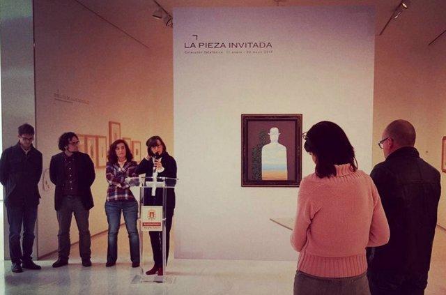Presentación de 'La Belle Société' de Magritte en el MACA