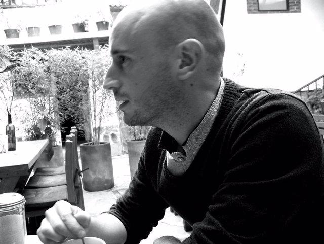 El escritor Daniel Díez, autor de 'El mosquito de Nueva York'