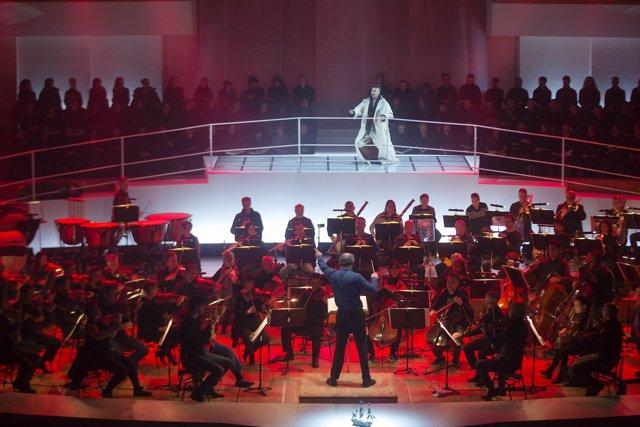 Coproducción del Palau de la Música y de Les Arts