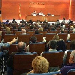 La consellera Dolors Bassa se reúne con federaciones de discapacitados