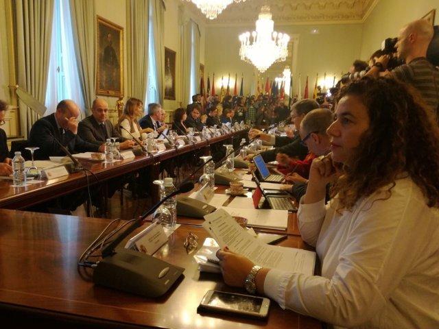 Costa en el comité preparatorio de la VI Conferencia de Presidentes