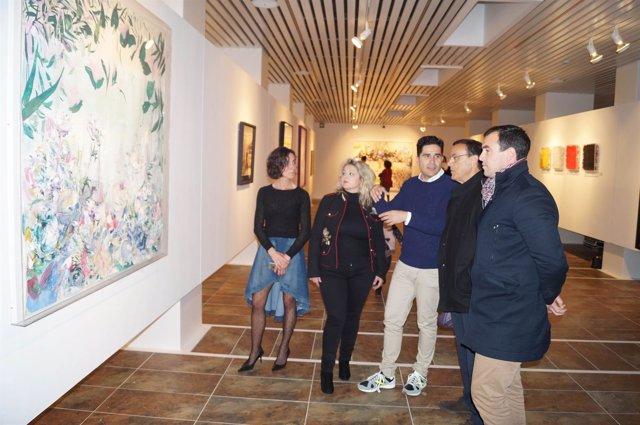 Inauguración de la muestra de Ismael Lagares