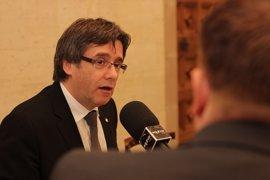 Puigdemont reitera a la CUP que sin Presupuestos no habrá referéndum