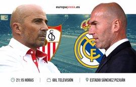 Horario y dónde ver el Sevilla – Real Madrid | Vuelta de octavos de final de Copa del Rey