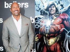 "Dwayne Johnson asegura que Shazam será ""divertida y optimista"""