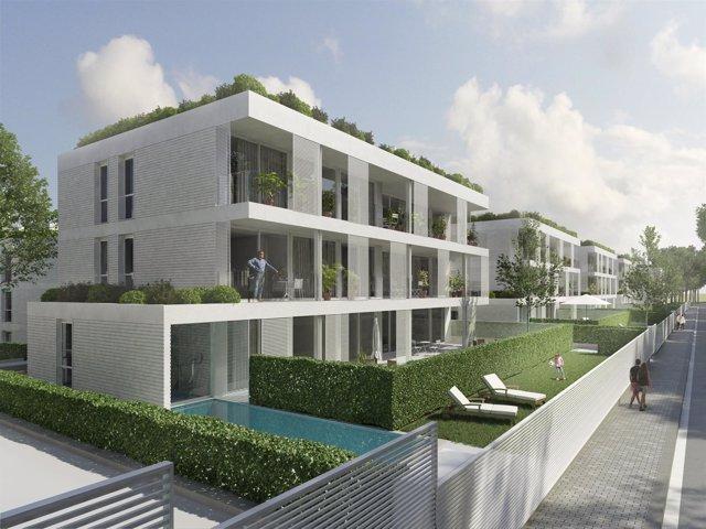 el fondo aquila e inmoglaciar invierten millones en levantar viviendas de lujo en barcelona
