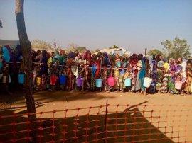MSF distribuye alimentos a 10.500 desplazados en República Centroafricana