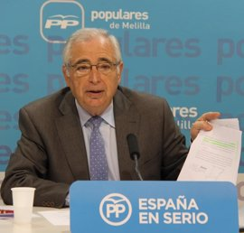 Imbroda anuncia que optará a la reelección de la Presidencia del PP de Melilla