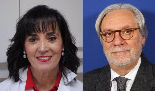 Carlos del Cacho y Ana Jiménez