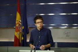 Errejón quiere combatir el miedo a Podemos con trabajo parlamentario y aprovechar la crisis del PSOE