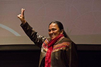 """Milagro Sala llama al pueblo mapuche a """"resistir la persecución"""""""
