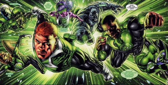 Green Lantern Corps, Linterna Verde