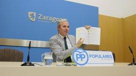 """El PP presenta enmienda a la totalidad al """"peor presupuesto de la historia"""" de la ciudad"""