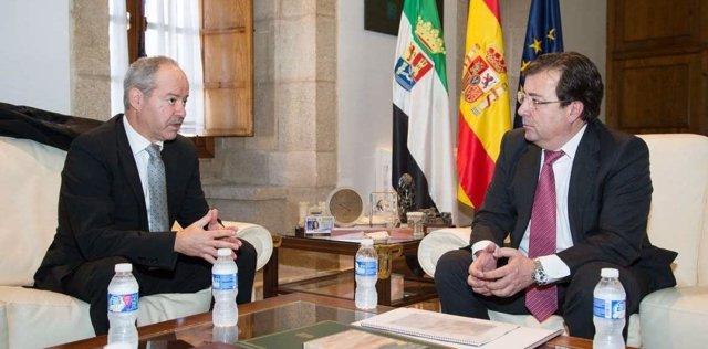 José Luis Cacho y Guillermo Fernández Vara