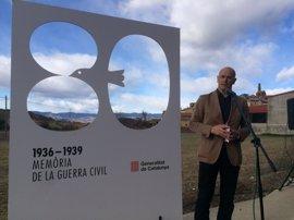 Raül Romeva anuncia un plan de apertura de fosas de 300.000€ para 2017 ampliable a 2019